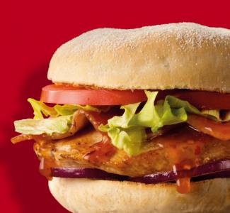 Hot 'n' Spicy Bacon & Chicken Burger image