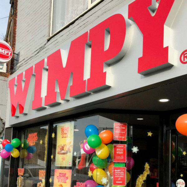 News article image (Wimpy Strood re-opens after makeover)