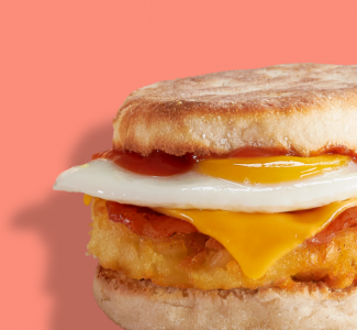 Bacon & Hash Brown Muffin image