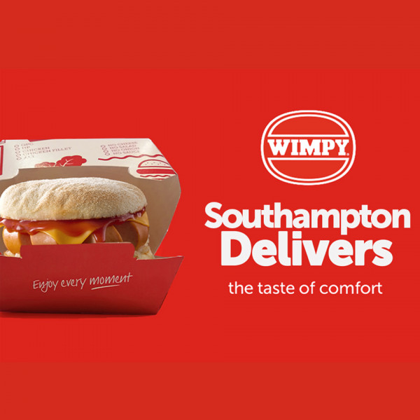 News article image (Wimpy delivery arrives in Southampton)