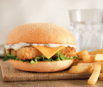 Fish Finger Burger image