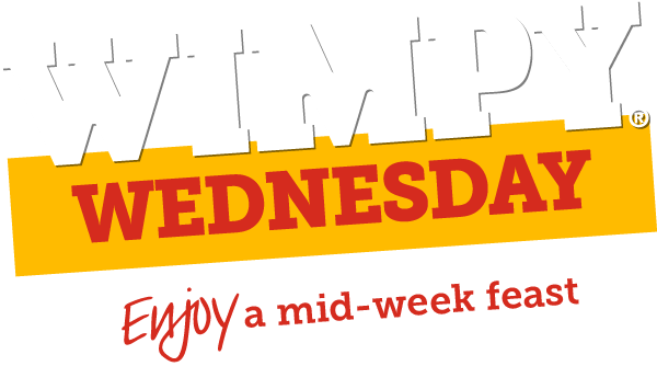 ENJOY A MID-WEEK FEAST AT WIMPY! overlay image