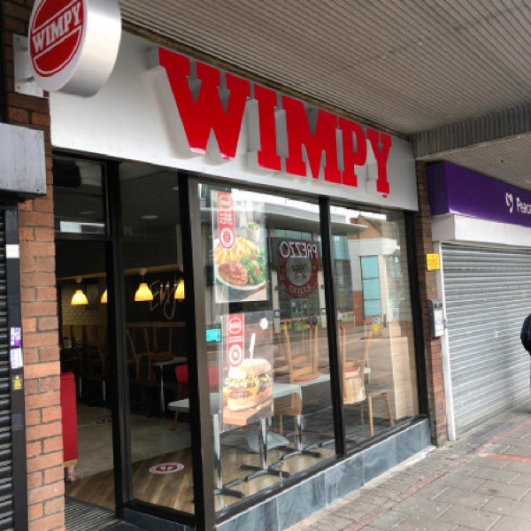 News article image (wimpy borehamwood serves up smart new look)