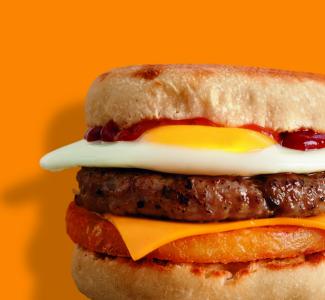 Sausage & Hash Brown Muffin image