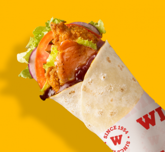 Chicken & Bacon BBQ Wrap image
