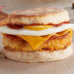 Bacon & Hashbrown Muffin image