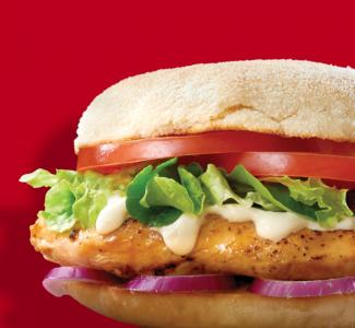 Gourmet Chicken Burger image